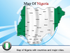 PowerPoint Template give a view of Nigeria Map