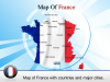 Analysis PowerPoint Template of Map of France