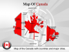 PowerPoint Maps of Canada Template- powerpointmapsonline.com