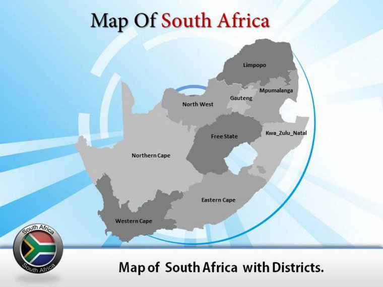Online Africa Powerpoint Maps and Backgound