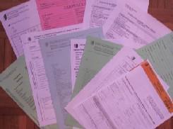 Descriptif des papiers nécessaires pour les inscriptions en Haute Ecole + coûts