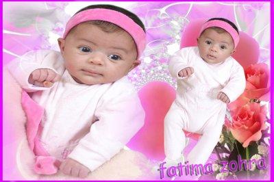 ma fille  fatima zohra