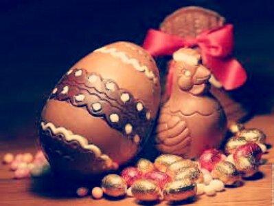 Joyeuses pâques à tous :) Et surtout bon appétit xD