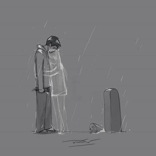 J'ai mal aux yeux à force de pleurer et j'ai mal au coeur car je sais que j'arriverai pas à t'oublier. Bats toi encore un peu s'il te plait :'( <3