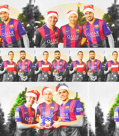 Fc Barcelona Benisse Vous Aviez Un Joyeux Noel Nouveau Maillot