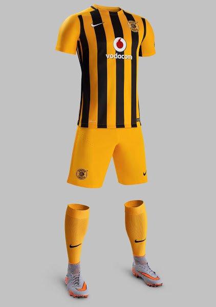 Kaizer Chiefs nouveau maillot Nike 2015 2016