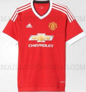 Photo - Nouveau maillot de foot Manchester United 2015 2016