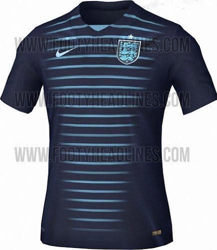 nouveau maillot Angleterre 2015 2016 exterieur