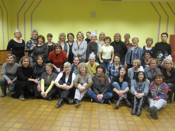Galette 2012 au CLC   Bande de petits veinards et gourmands