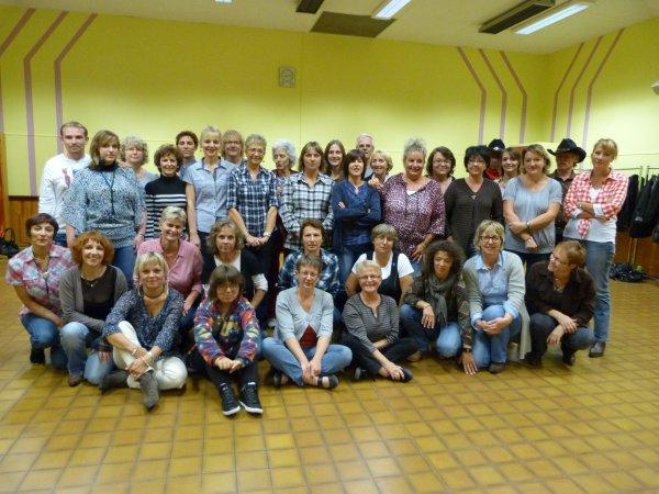 La troupe du CLC  Septembre 2012