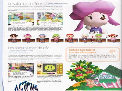 Centres d 39 int r t 3 animal crossing wild world - Animal crossing wild world hair salon ...
