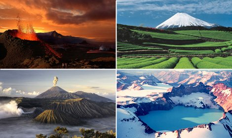 Les plus importants volcans du monde sont en éruption!!!
