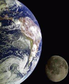 La lune s'éloigne de la Terre!