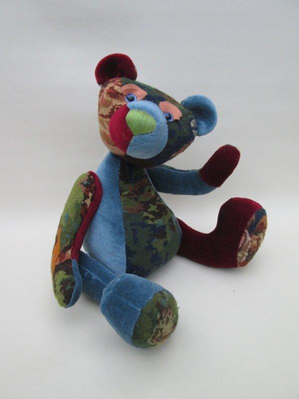 """Je suis un ours """"patchwork"""""""