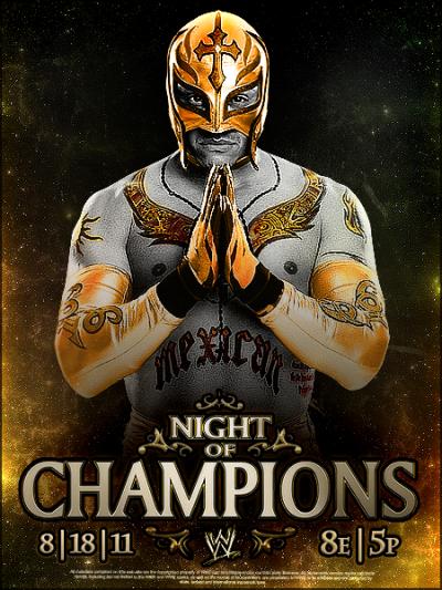 rey mysterio Night Of Champions 2011