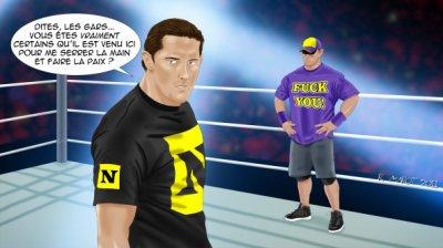 Ensuite, la descente aux enfers a commencé pour Cena: