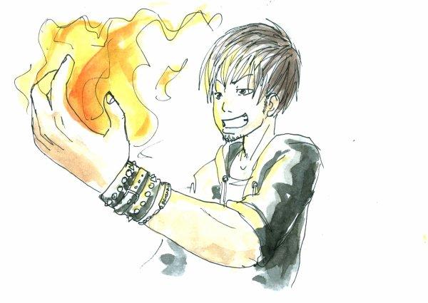 Le maître du feu.