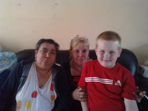 maman et joselyn et son fils