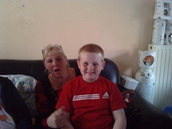 joselyne et son fils