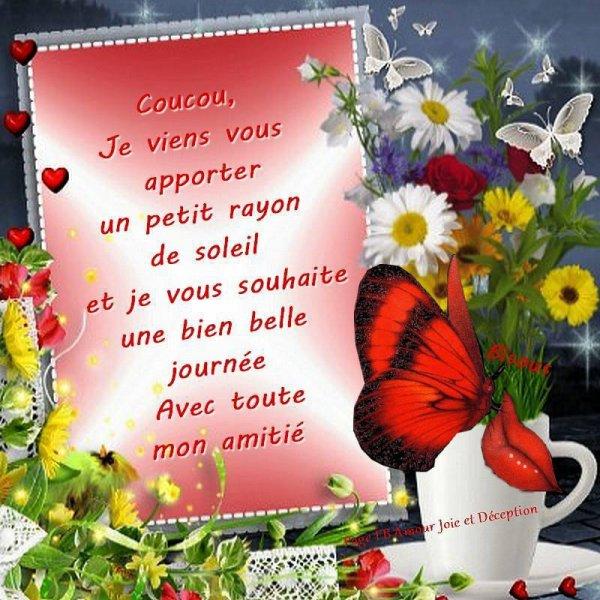 Bon 1er Avril ! Bonne Journèe à Tous Bisousss