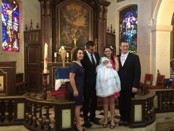 Baptême deLucie Pearl