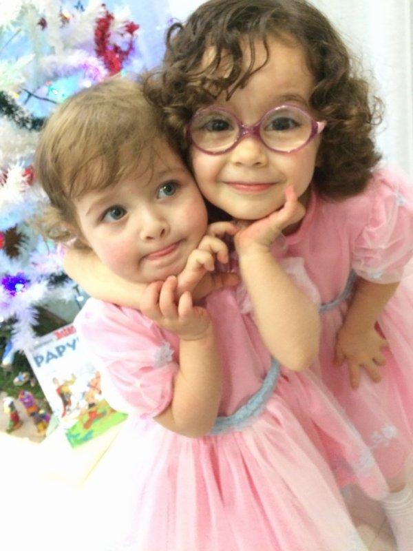 Mais deux petites filles