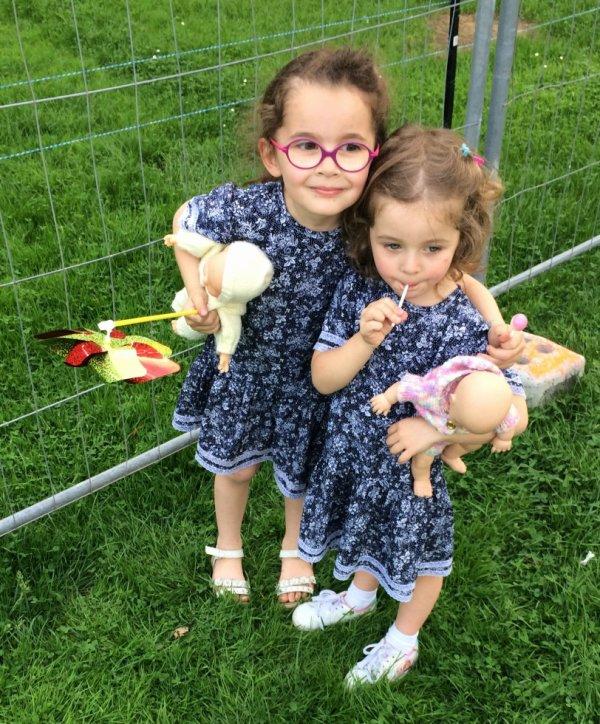 Mes deus petites filles