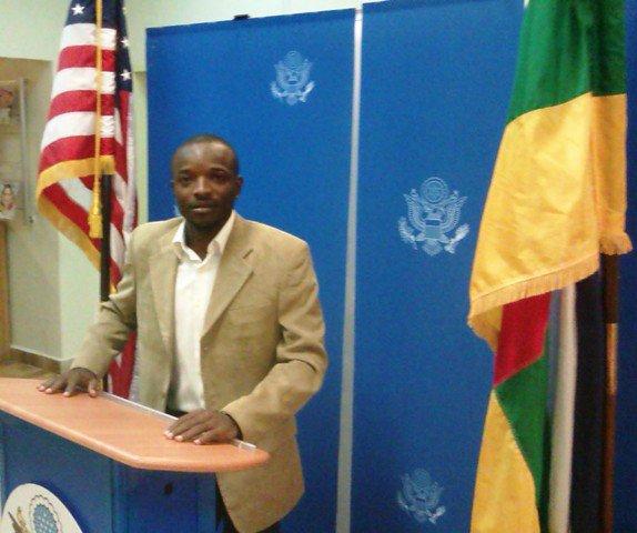 Le Portrait du mois de juin 2015: Cédric Pacific ZOUADE en partance aux Etats-Unis pour le programme YALI