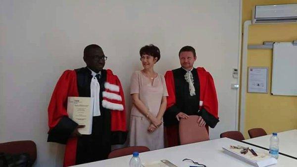 A la une: Félicitations au Dr. Prince Odilon TOMANDJI NZAPAHAM