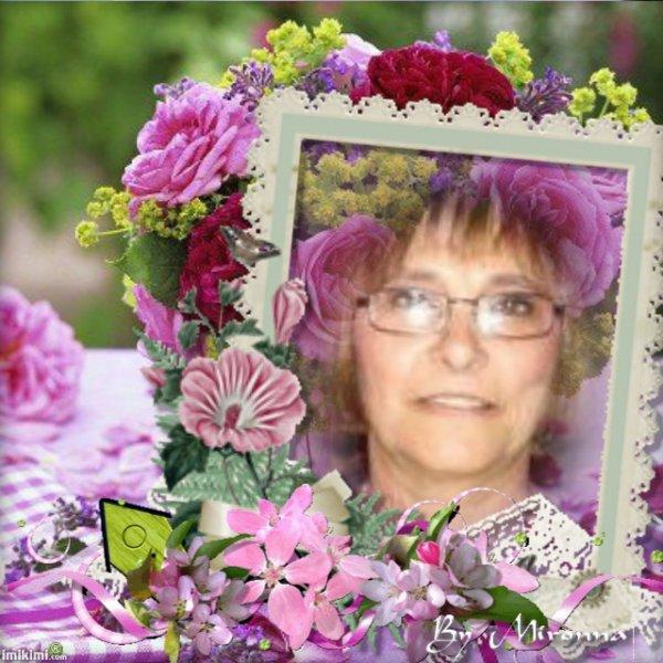 TRES JOLIE CREATION DE MON AMIE CIBELINE POUR MON ANNIVERSAIRE