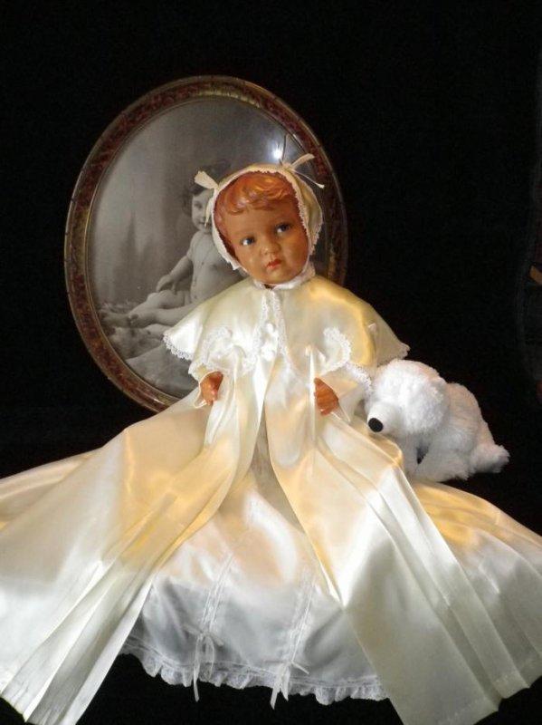 TOILETTE BAPTÊME ANNÉES 50