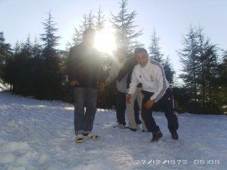 cherea et la neige