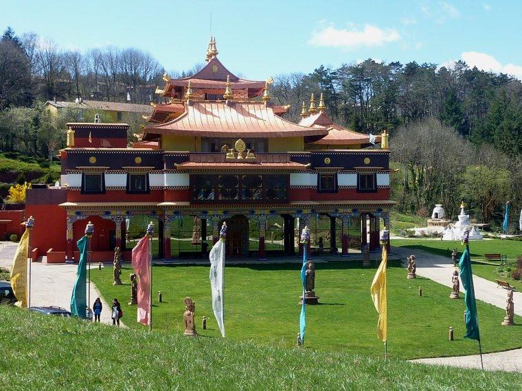 Temple bouddhiste de Lérab Ling