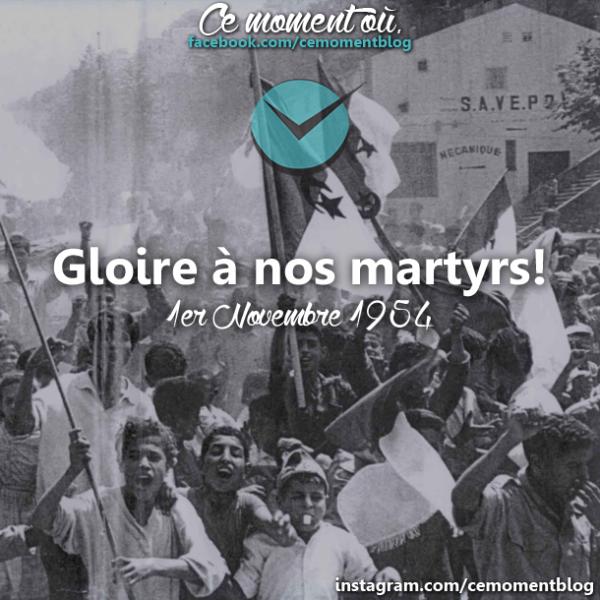 [Actualité/Invocations]Gloire à nos martyrs Algériens <3