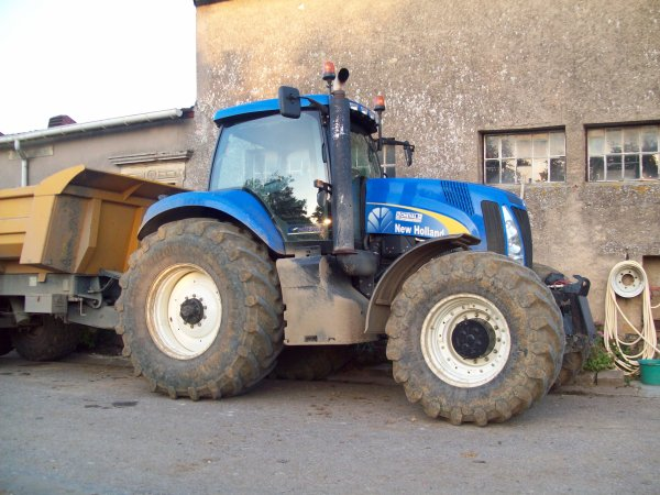 new holland t 8030