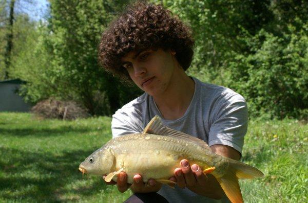 En mai, à la pêche on s'y plait