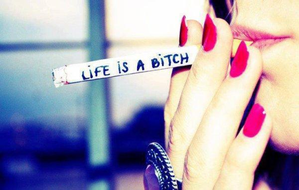 La vie est une pute !