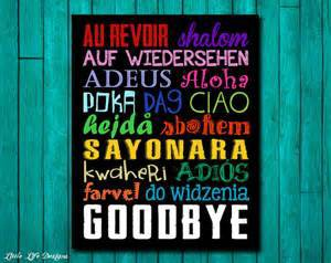 Au revoir...