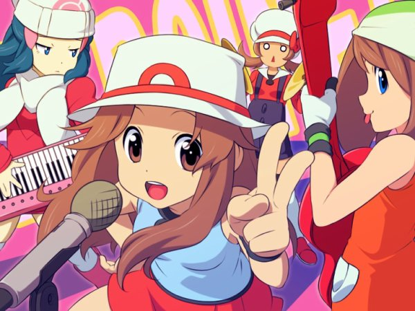 K-on version dresseuses de pokemon?
