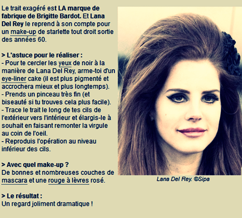Lana Del Rey : sans maquillage, très méconnaissable ... A vous de dire vos avis ..