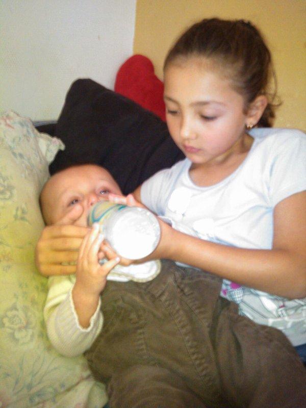 Ma nièce et mon fils