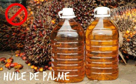 L'huile de Palme - Non !