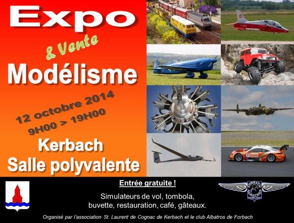 2è Expo Modélisme à Kerbach le 12-10-14