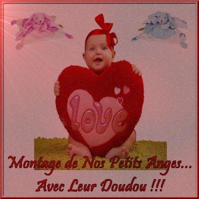 *** Montage de Nos Petits Anges avec leur Doudou... ***