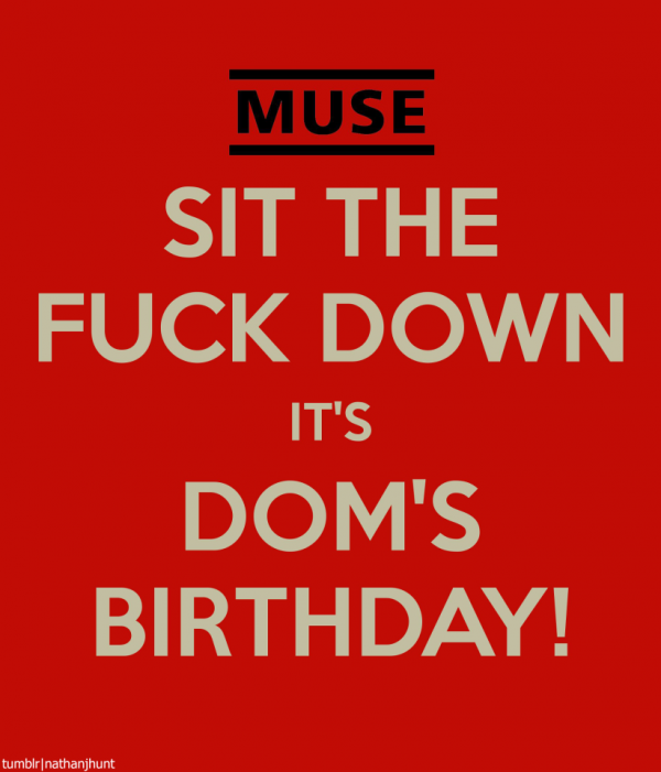 DOM-DOM-DOMMEH!!