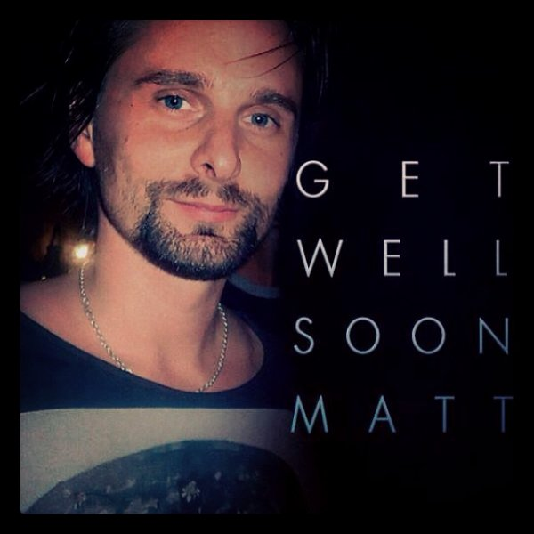 Bad News: Please Get Well Matt!! <3