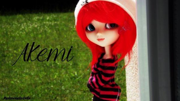 Présentation de ma deuxième Pullip. - Akemi