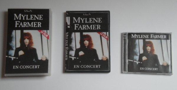 """Supports """"En concert. Tour 89"""""""