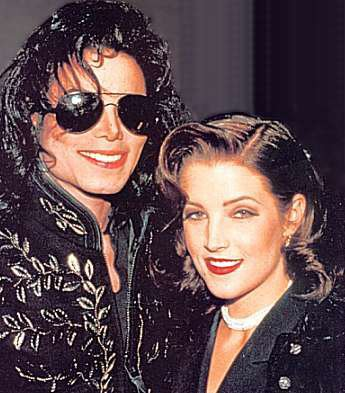 Le Roi de La Pop avec la fille du King
