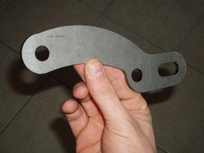 Fabrication de support de patte moteur